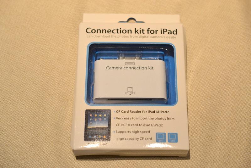 iPad用カードリーダー コンパクトフラッシュ