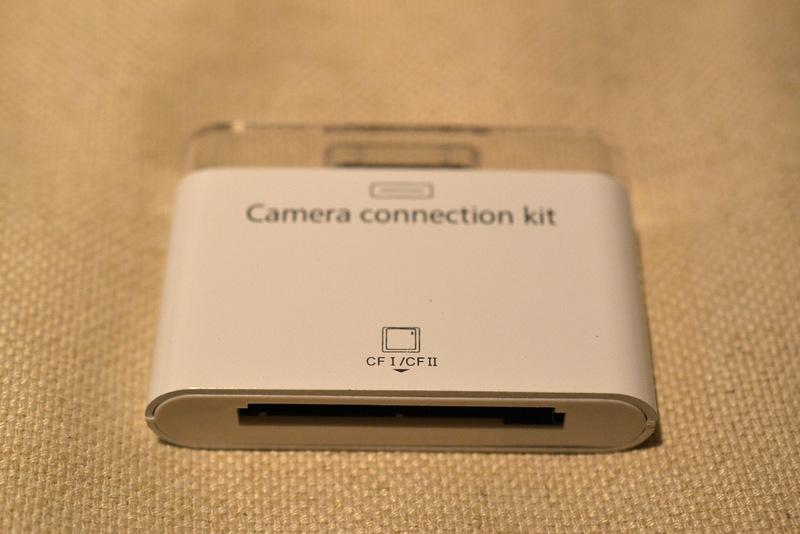 iPad用カードリーダー コンパクトフラッシュ ボディ