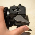 234RCはクイックリリースカメラプレートシステム