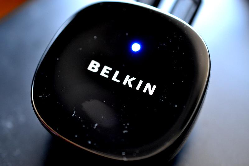 BELKIN iPhone/iPod用ブルートゥース ミュージック レシーバー F8Z492JA
