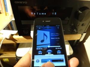 無料アプリONKYO REMOTE2で音量コントロール