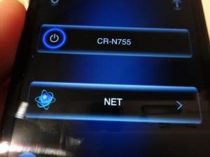 無料アプリONKYO REMOTE2でネットラジオをコントロール