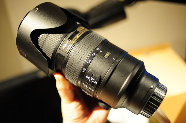 Nikon AF-S NIKKOR 70-200mm f/2.8G ED VR II 購入直後テスト撮影