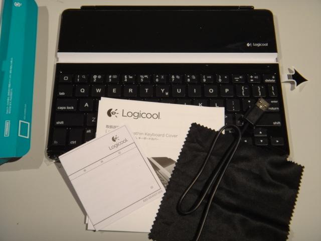 ロジクール ウルトラスリム キーボードカバー TK710 付属品