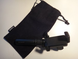 SPA-MK20には携帯ポーチがついてくる!これはうれしいアイテム。