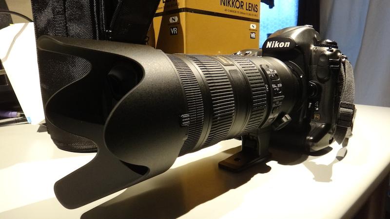 ニコン AF-S NIKKOR 70-200mm f/2.8G ED VR II レビュー