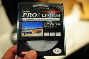 Kenko カメラ用フィルター PRO1D プロテクター (W) 77mm レンズ保護用 252772をニコン AF-S NIKKOR 70-200mm f/2.8G ED VR II に装着