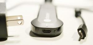 Google Chromecastの延長ケーブルとUSB電源