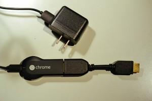 ChromecastとAC電源