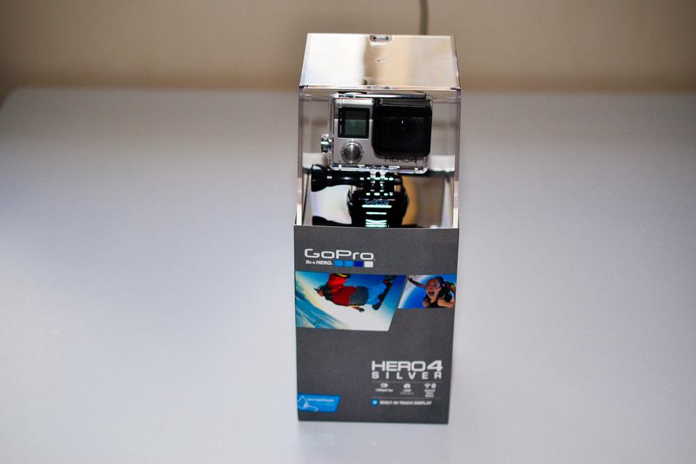 GoPro HERO4 Silverを発売日翌日に購入してしまいました。