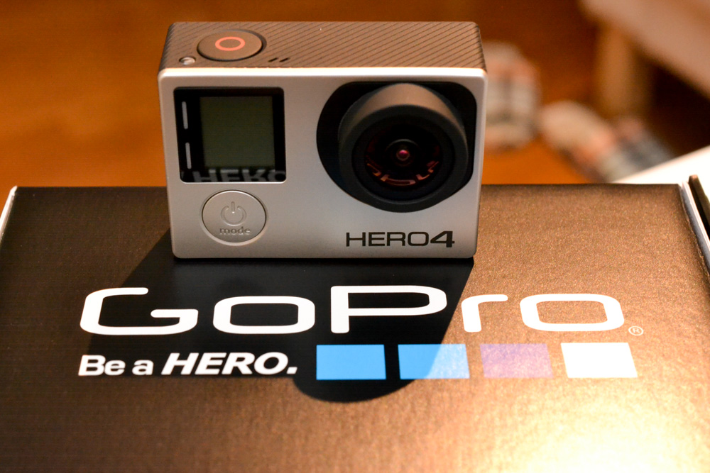 ソニーアクションカム vs GoPro比較 - 私は液晶付GoPro HERO4 Silverに