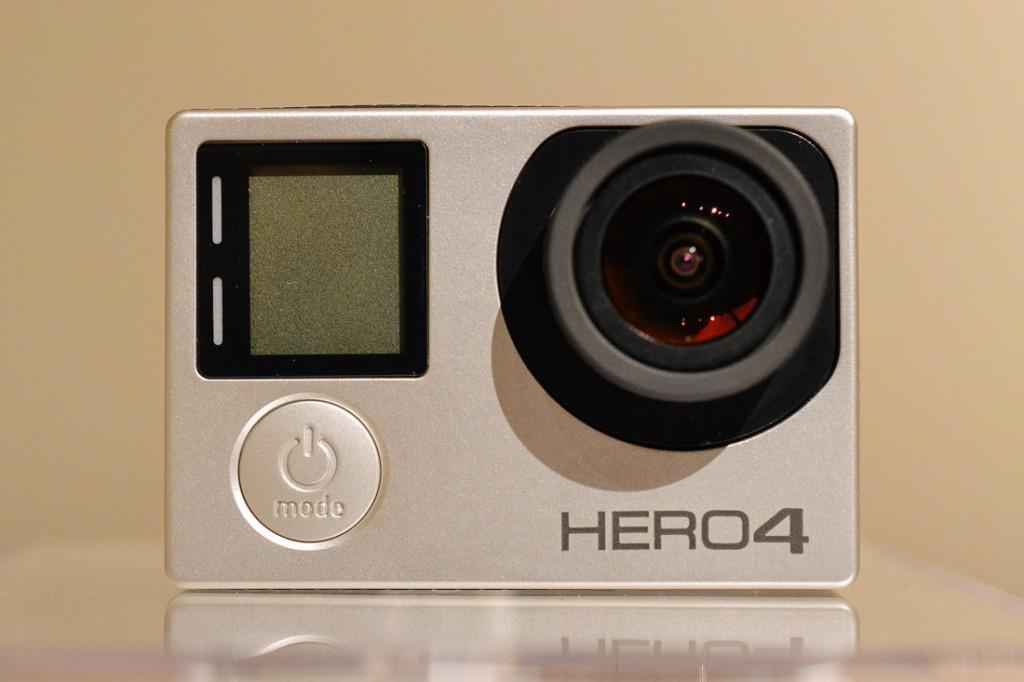 GoPro HERO4 Silver購入レビュー(タッチディスプレイ操作編)