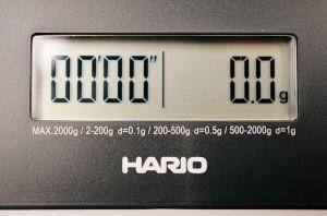 ハリオ V60 ドリップスケール VST-2000B