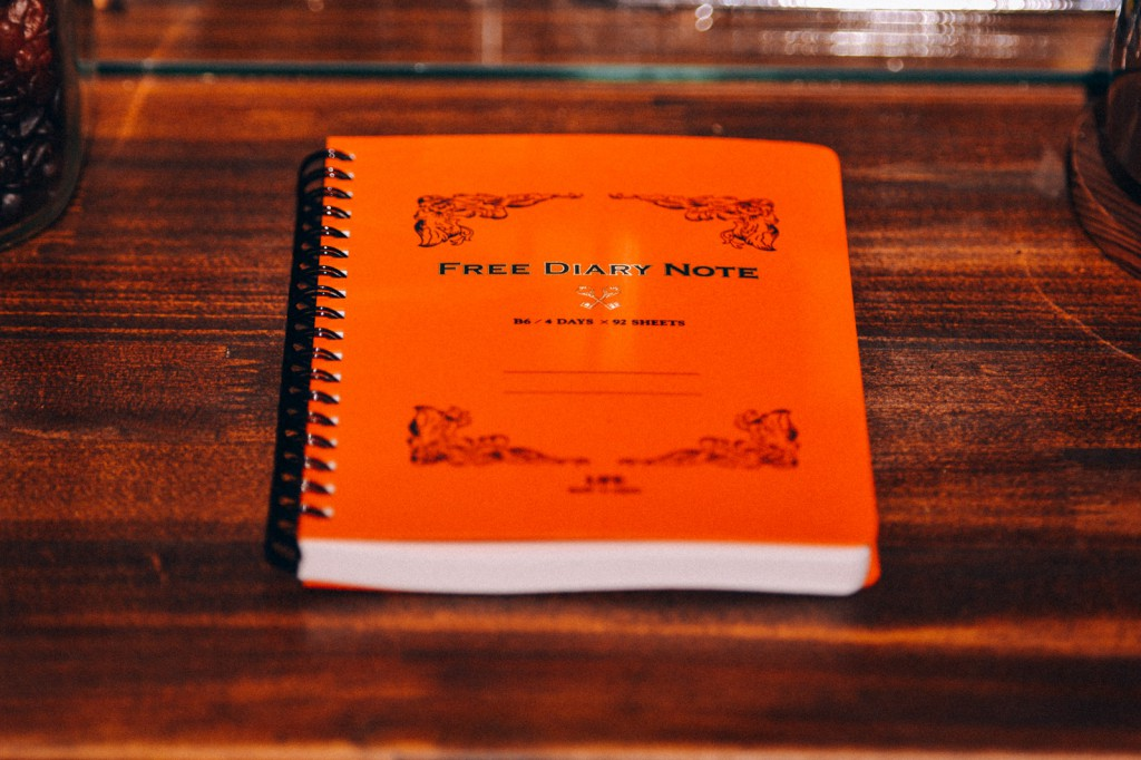 LIFE ライフ 日記帳 FREE DIARY NOTE 購入レビュー D1528