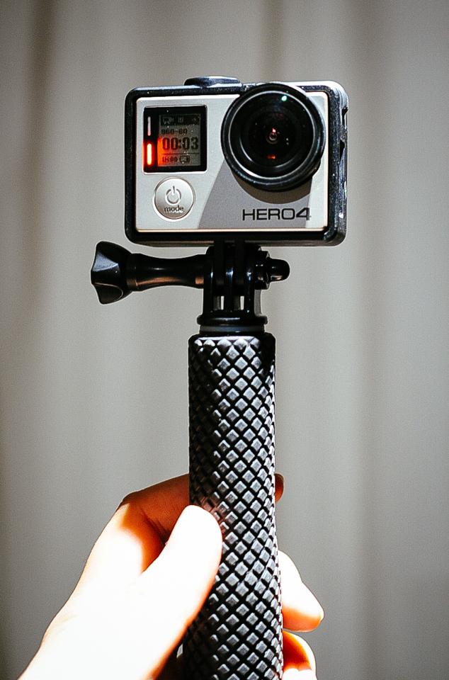 GoPro HERO4とThe Frame ザ・フレーム ANDFR,301 購入レビュー