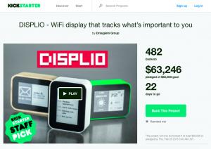 kickstarter displio