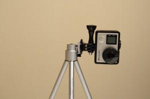 ELECOM コンパクトデジタルカメラスタンド 2段伸縮 グラフギア ブラック DGT-014BK