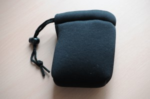 ETSUMI バッグアクセサリー クッションレンズポーチSS ブラック ETM-83581