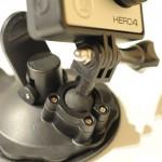 車のダュシュボードにゲル素材で装着できるサクションカップマウントREC-MOUNTS GoPro用 ショート サクションカップマウントType2 (80mm) Short Suction Cup Mount Type2 (ゲル素材タイプ REC-B01G)