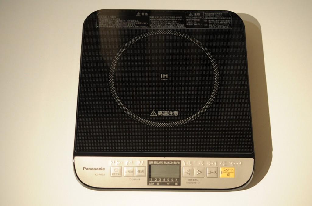 パナソニック IH調理器 ブラック KZ-PH33-K購入レビュー。