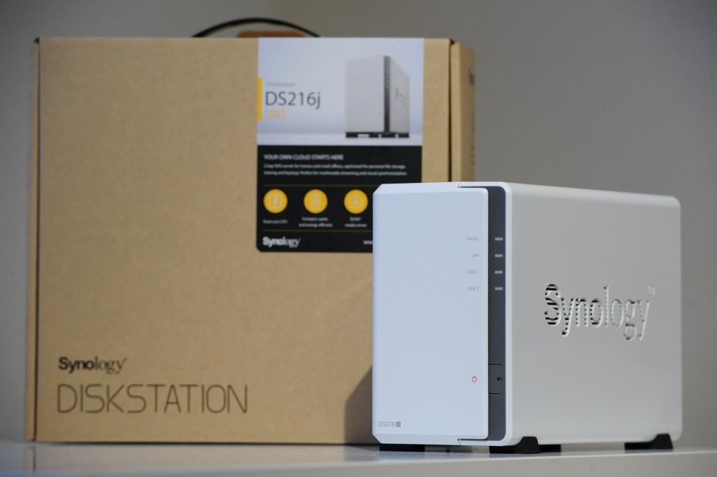 Synology NAS DiskStation DS216j購入レビュー