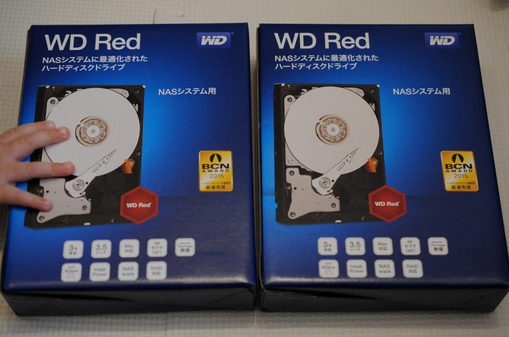 WD HDD 内蔵ハードディスク 3.5インチ 3TB Red WD30EFRX購入しました。3TBあればよいかなと思いまして。