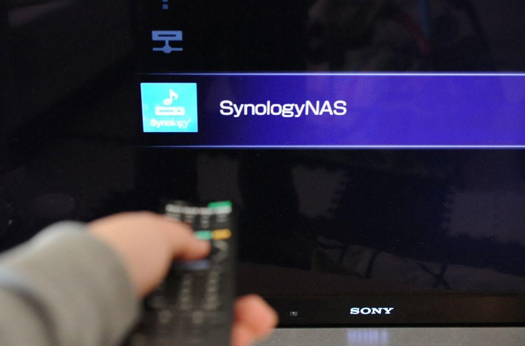 テレビの電源をONにし、ホーム→ビデオを選択するとDJ216jが見つかりました!!