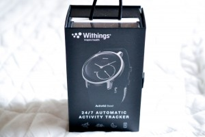 Withings Activite Steel Blackパッケージ外観