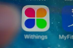 Withingsアプリを起動します。