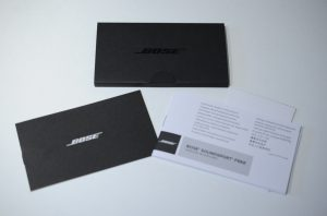 Bose SoundSport Free wireless headphones 購入レビュー付属品