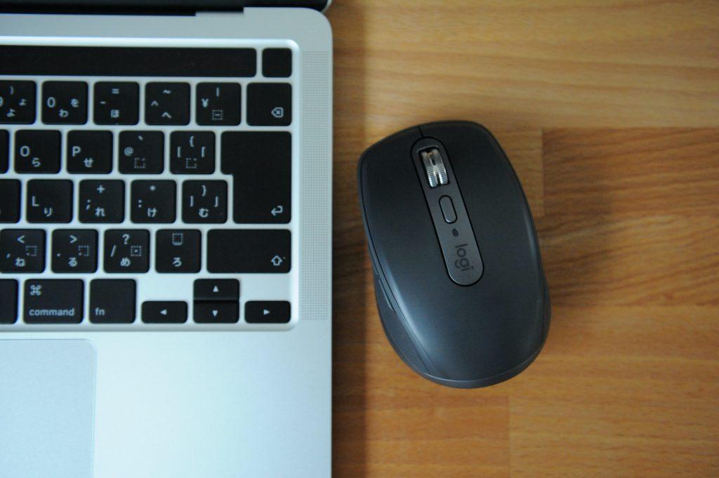 ロジクール MX ANYWHERE 3 ワイヤレス モバイルマウス MX1700GR Unifying Bluetooth 高速スクロールホイール 充電式 ワイヤレスマウス 無線 マウス windows mac chrome iPad OS MX1700 グラファイト 国内正規品 2年間無償保証
