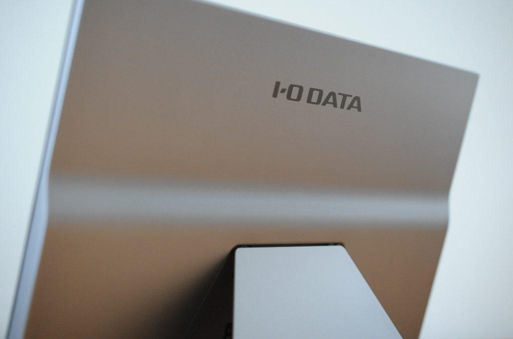 I-O DATA 15.6インチ EX-LDC161DBM モバイルモニターの背面デザイン